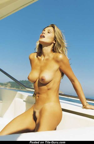 Flavia Alessandra - Handsome Brazilian Blonde Actress with Handsome Defenseless Natural Tight Breasts (Sex Photo)