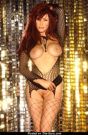 Image. Tiffany - sexy naked red hair with medium tittes pic