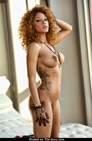 Image. Naked nice female with medium natural tittes image