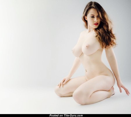 Jo Paul - Marvelous British Gal with Marvelous Nude Real Substantial Boobie (Sexual Image)