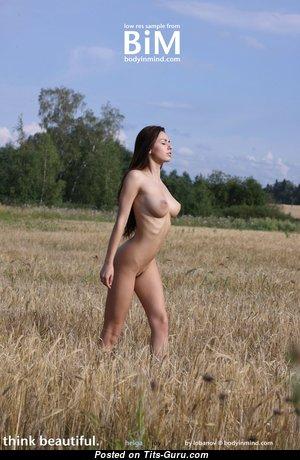 Adorable Actress with Alluring Naked Natural Regular Breasts & Huge Nipples (Voyeur Hd 18+ Wallpaper)