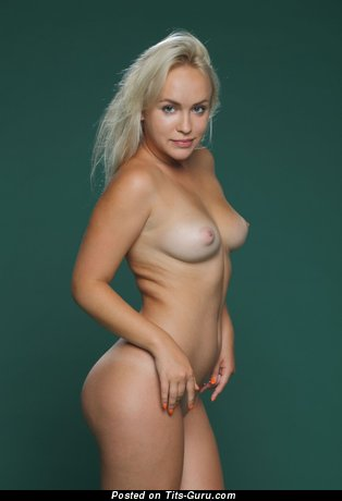 Image. Naked amazing girl with medium natural tittes photo
