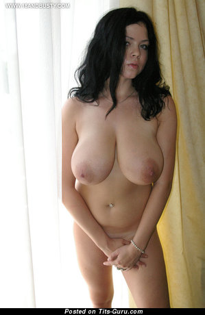Image. Hot female with huge natural tots photo