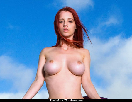 Ariel Piper Fawn - Hot Czech Red Hair Babe & Pornstar with Hot Nude Real Dd Size Hooters & Enormous Nipples (Sex Image)
