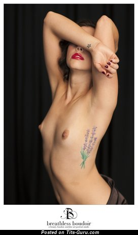 Image. Amazing female with small tittys and tattoo picture
