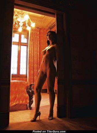 Cristina Maria Stefanescu - Charming Unclothed Brunette (Porn Foto)