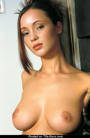 Image. Oksana Konakova - naked awesome female with big natural boob picture