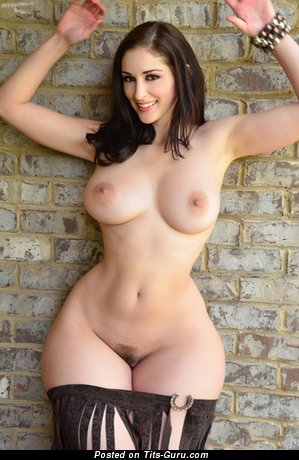 Image. Nude wonderful woman with big natural breast photo