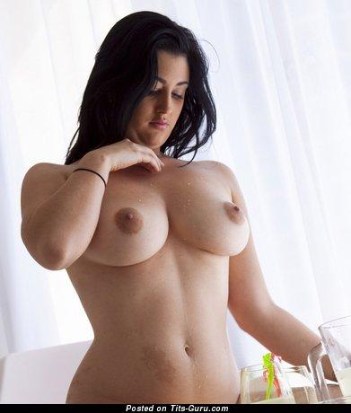 Image. Scarlett Morgan - sexy naked wonderful girl with big natural tots photo