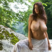 Amazing woman with huge tittys image