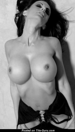 Image. Nude wonderful girl with big fake tits image