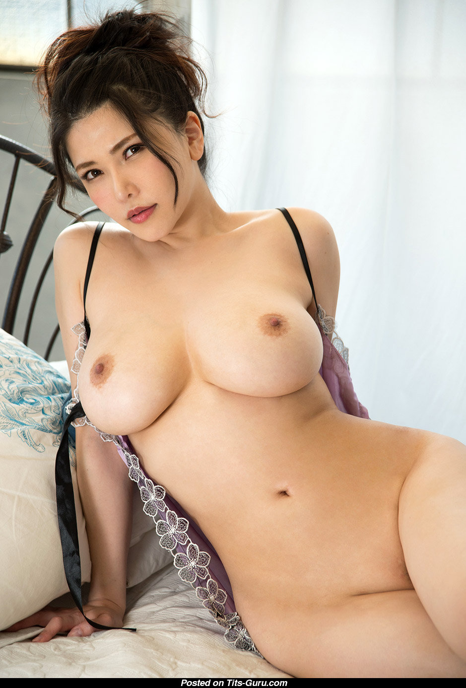 Anri Okita - Topless Asian Brunette Pornstar With Bare -4429