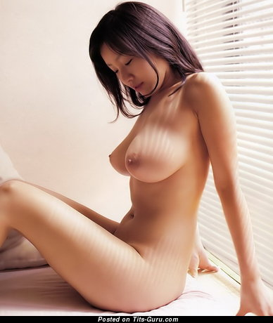 Nude asian with big tits image
