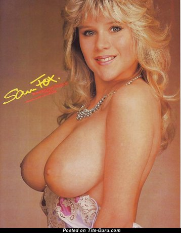 Samantha Fox - Cute British Bimbo with Cute Open Real Very Big Knockers (Hd Sexual Pix)