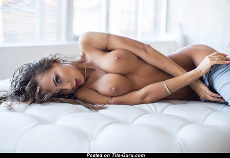 Katerina Rubinovich - Adorable Brunette with Adorable Naked D Size Balloons (Sex Pix)