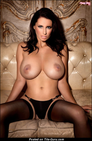Image. Sammy Braddy - nude brunette with big tots photo