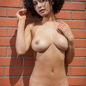 Wonderful girl with big natural tittes image