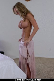 Image. Hot lady with big fake tits gif