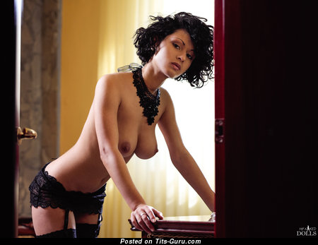 Image. Lubachka - sexy beautiful lady with big natural breast photo