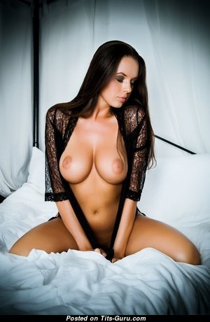 Magnificent Babe with Magnificent Bald Normal Titties (18+ Wallpaper)