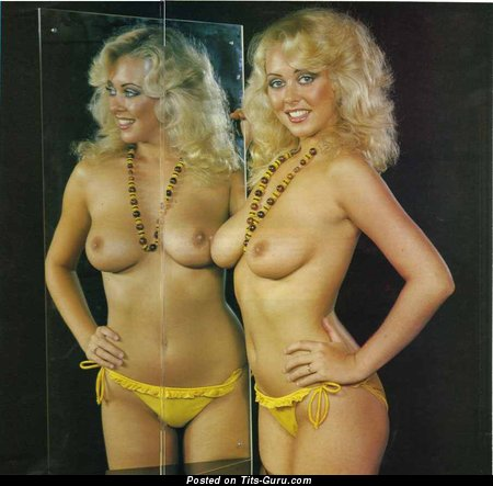 Debbie Linden - Grand Scottish Blonde with Grand Naked Real Mid Size Boobys (Vintage Sexual Pix)