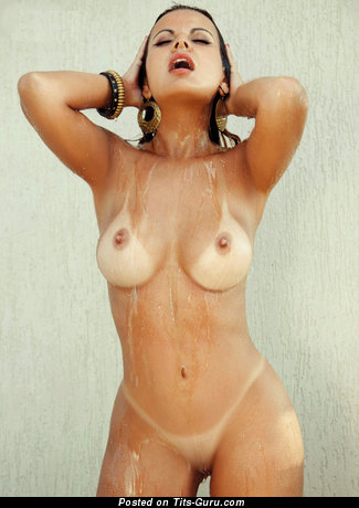 Handsome Lassie with Handsome Bald Med Busts (Xxx Photoshoot)