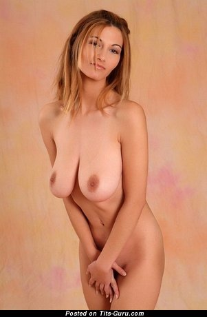 Image. Naked awesome girl with natural boobies photo
