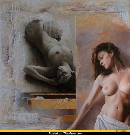 Image. Wonderful woman with big natural tots photo