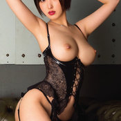 Sexy asian brunette with big breast pic