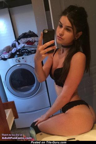 Pretty Non-Nude Brunette Babe (Amateur 18+ Pix)