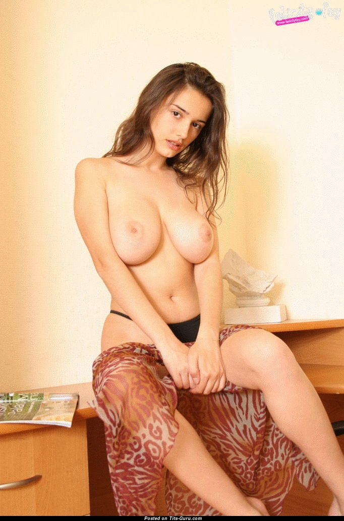 Image. Felicity Fey - nude wonderful woman with big natural breast gif