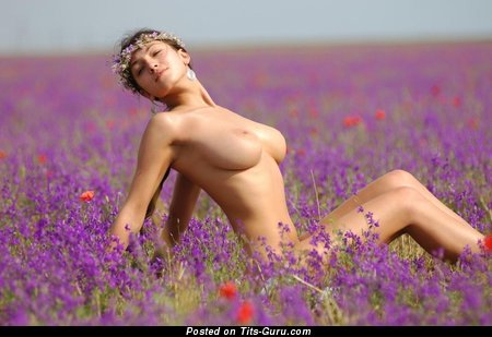 Image. Awesome female with big natural breast image