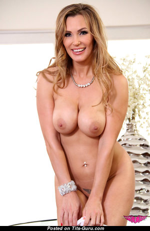 Tanya Tate - Amazing British Blonde Babe & Pornstar with Amazing Defenseless Round Fake Big Hooters (Hd Porn Picture)