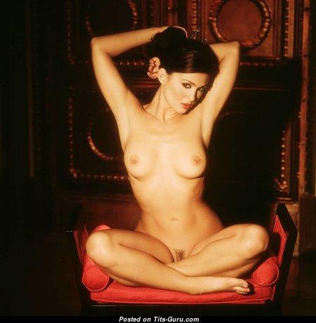 Katia Corriveau - Splendid Glamour Canadian Red Hair with Splendid Nude Natural Knockers & Enormous Nipples (18+ Pix)