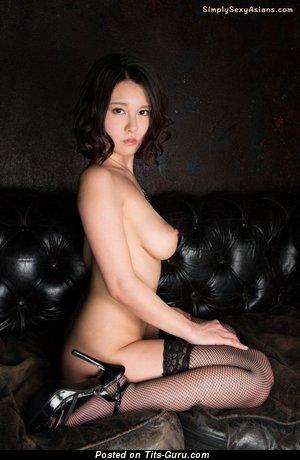 Cina Matsuoka - Yummy Topless Asian Babe with Yummy Defenseless Real Busts (Hd Xxx Wallpaper)