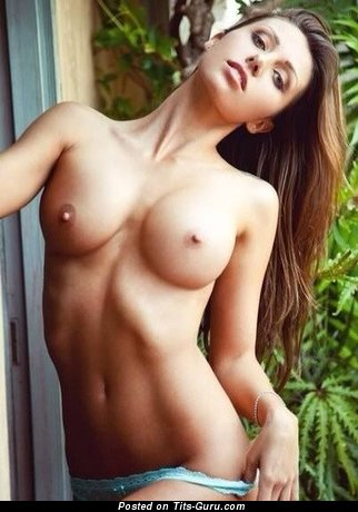 Naked red hair with medium boob picture