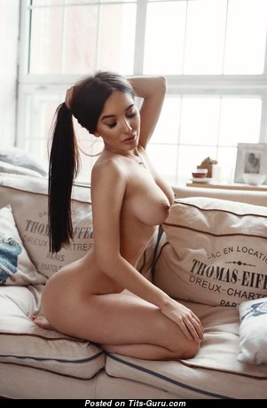 Alina Gorohova - Exquisite Topless Floozy with Exquisite Defenseless Real Firm Busts (Hd 18+ Wallpaper)
