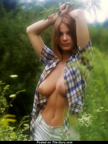 Image. Nude awesome woman with big natural boobies pic