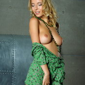 Wonderful woman with natural tits image