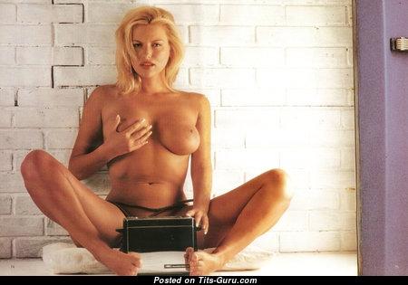 Deborah Corrigan - Fine Topless British Blonde with Fine Nude Real Soft Boobys (Vintage Hd Sexual Pix)