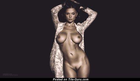 Изображение. Jenya D - фото восхитительной обнажённой женщины с большими сиськами