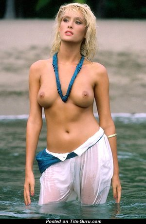 Donna Smith - The Nicest Topless American Playboy Blonde with The Nicest Exposed Natural Boobie (Vintage Sex Pix)