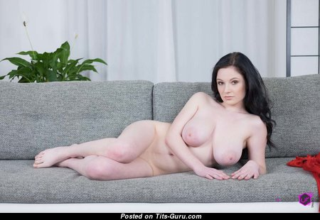 Angel Princess - Yummy Brunette with Yummy Defenseless Natural Tittes (Hd Sexual Image)