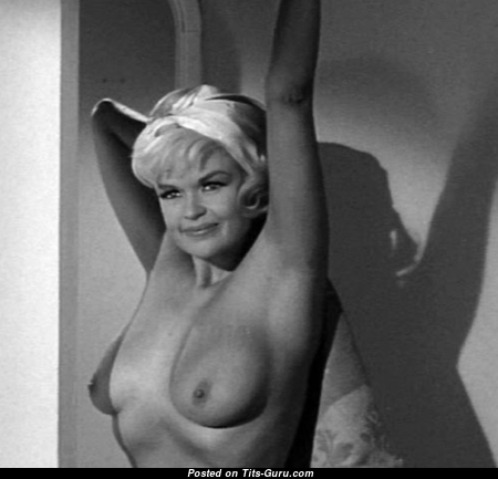 Jayne Mansfield - The Nicest American Playboy Blonde Actress with The Nicest Naked Natural Pint-Sized Tittys (Sexual Pix)