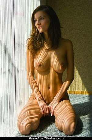 Image. Sexy topless amateur amazing female with medium tits image