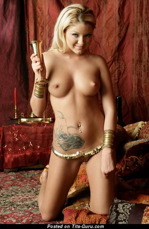 Image. Jeska - nude blonde with medium natural tits picture