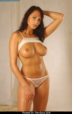 Gabriela Munzarova - Beautiful Babe with Beautiful Nude Natural Firm Tit & Huge Nipples (Hd Sex Picture)