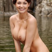Mariann - wonderful female with big natural breast photo