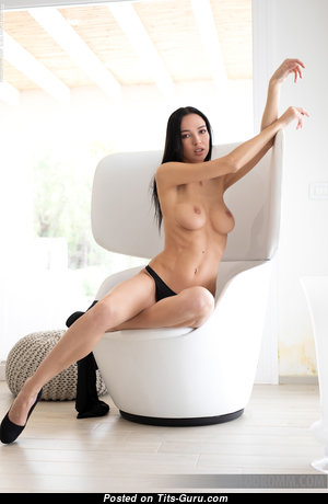 Anastasya B - Perfect Topless & Glamour Brunette Pornstar with Big Nipples (Hd Sex Foto)