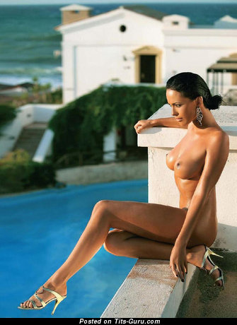 Magnificent Brunette with Magnificent Bare Normal Breasts (Xxx Pix)
